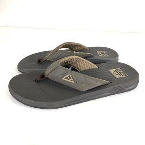 Reef Phantom Brown Flip Flops Sandals Men's Sz 9